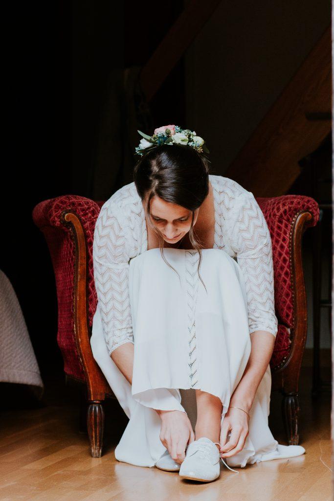 Préparatifs de la mariée cérémonie laïque_Wedding planner éthique responsable Bretagne