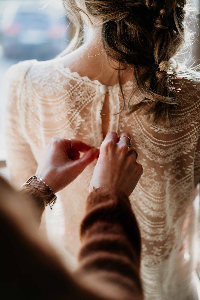 Shooting hivernal mariage Bretagne