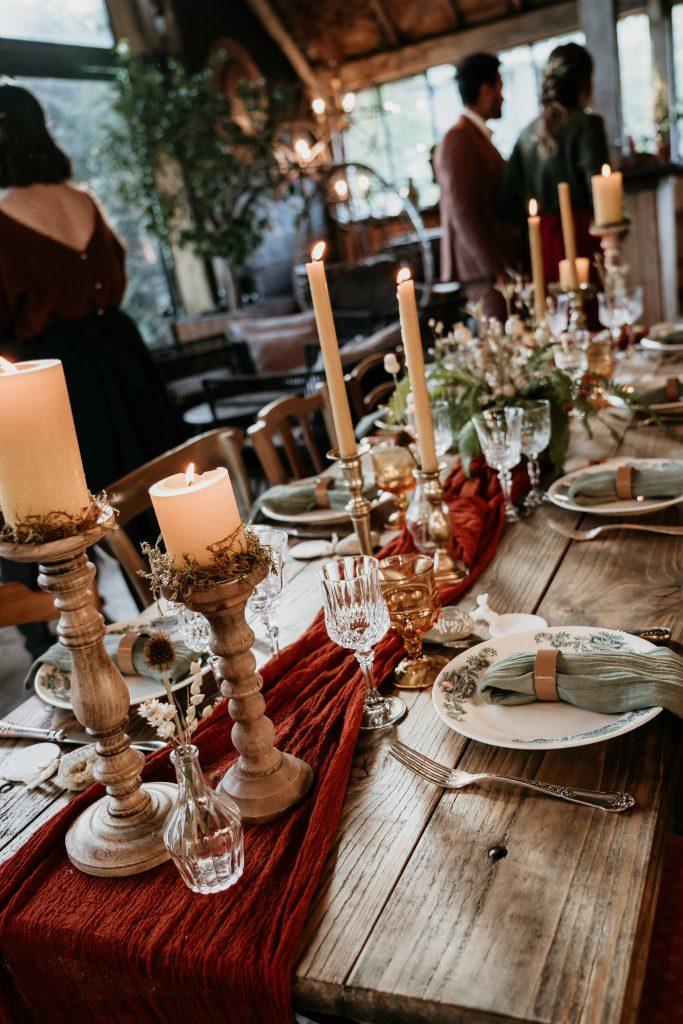 Shooting mariage hivernal Bretagne